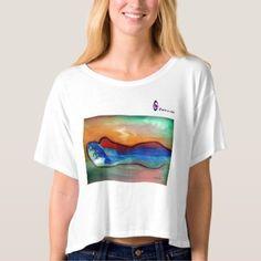 #women - #Dawn Of Mother Earth Box Tee Shirt
