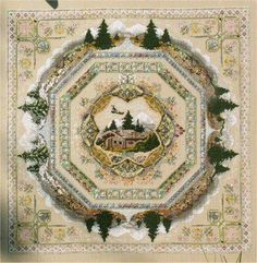 European Cross Stitch - Passione Ricamo; I want to do this project soooooo bad!