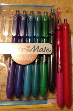 """""""Ink Joy Pens"""" at Staples   ~ Not being sponsored, they're just amazing gel pens ❤️"""