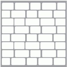 Silhouette Design Store - View Design #43248: bricks mask / template / background
