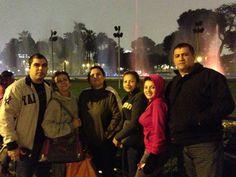 Andrés y sus amigos en Perú con Acércate.