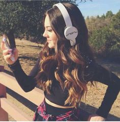 Ava Allan rockin her SolRepublic headphones!