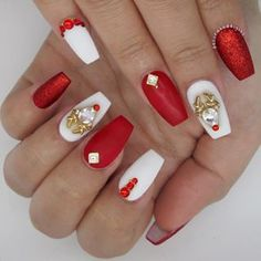 Nails christmas 38 Amazing Christmas nail ideas for Christmas short nails; 38 Amazing Christmas nail ideas for Christmas short nails; Xmas Nails, Holiday Nails, Red Nails, Best Nail Art Designs, Short Nail Designs, Christmas Nail Designs, Christmas Nail Art, Red Christmas, Coffin Nails