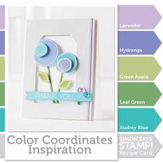 Color Coordinate Recipe!