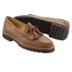 Just found this Mens Loafers Leather - Classic Tassel Loafer -- Orvis on Orvis.com!