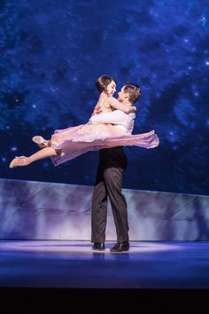 Ashley Day and Leanne Cope in An American in Paris, London #stage #broadway #anamericaninparis #ashleyday #leannecope