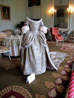 18th century part of an exhibition in Villarceaux castle (France)