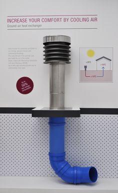 REHAU ground air heat exchanger