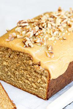 Easy Baking Recipes, Easy Cake Recipes, Sweet Recipes, Dessert Recipes, Loaf Recipes, Condensed Milk Cake, Condensed Milk Recipes, Coffee Cake, Coffee Dessert