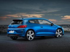 Economical sports car Volkswagen Scirocco 2015  Probably older lovers car brand Volkswagen Scirocco remember 40 years ago the first genera...