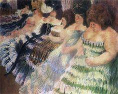 The Fat Women - Igor Grabar, 1904