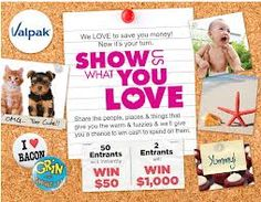 VALPAK Show Us What You Love Sweepstakes