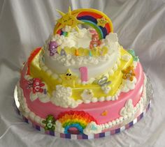 Carebears. Love it!! Want it for my next bday