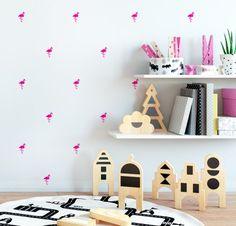LITTLE FLAMINGOS Ikea, Toddler Bed, Foyer, Kids Rugs, Shelves, Furniture, Comme, Home Decor, Mini
