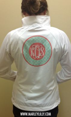 OMG. I could go crazy on this website. Monogram everything www.marleylilly.com