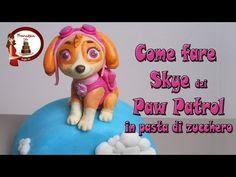 Skye from paw patrol tutorial