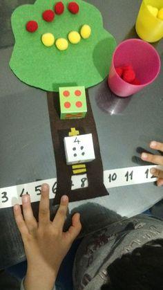 Rüzgar ım için montessori ev okulu(montessori homeschool): toplama işlemi: