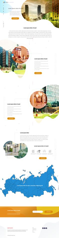Landing page building