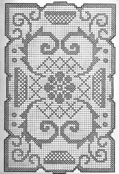 Kira scheme crochet: Scheme crochet no. Crochet Coaster Pattern, Crochet Motif, Crochet Shawl, Crochet Doilies, Crochet Yarn, Crochet Hooks, Crochet Patterns, Crochet Flower, Filet Crochet Charts