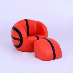 Corner Luxury Playroom Basketball Children Furniture/Kids Sofa With Ottoman  (SXBB 27
