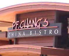 P,F Changs. Planet Hollywood. Vegas