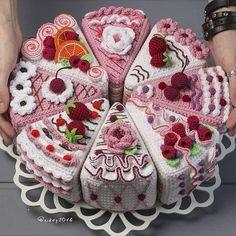 Best 12 Crochet Fruit – Lime slices pcs) – Seasons – Eco-friendly Decoration – Decor – Play food – Сrochet toys – play kitchen – Ready to ship – SkillOfKing. Crochet Cake, Crochet Fruit, Crochet Food, Cute Crochet, Crochet Crafts, Crochet Flowers, Crochet Projects, Amigurumi Patterns, Crochet Patterns Amigurumi