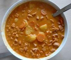 Rezept Möhren-Kartoffel-Eintopf von kuekena - Rezept der Kategorie Hauptgerichte mit Fleisch