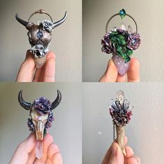 """185 Likes, 10 Comments - Grace (@foundbygrace_) (@gemsbygrace) on Instagram: """"Eeek!! All of these pieces from the """"Enchanted Garden"""" collection have been added to the Etsy shop…"""""""