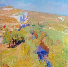 transistoradio:  John Hoyland (1934-2011), The Cele Spring...