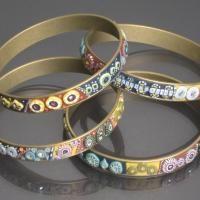 polymer beads with Cynthia Tinapple