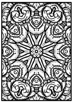 I Miss To Color You - Free Mandala Coloring Page