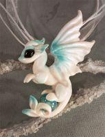 White ocean dragon by AlviaAlcedo