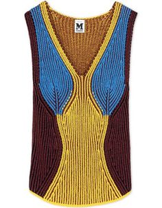 M MISSONI Sleeveless Jumper. #mmissoni #cloth #jumper