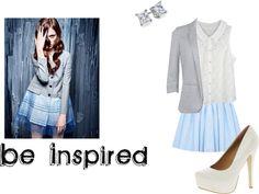 """Be Inspired"" by xxfiregirlxx ❤ liked on Polyvore"