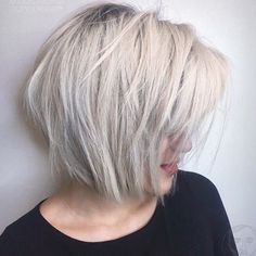 "3,001 Likes, 33 Comments - Aveda (@aveda) on Instagram: ""Winter is coming — why not try an edgy platinum blonde bob like this one by #AvedaArtist…"""