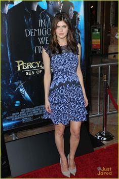 Alexandra Daddario as Annabeth Chase (Percy Jackson)
