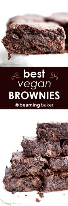 The BEST vegan brown