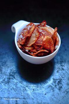 Chipsy z topinambura #gryz