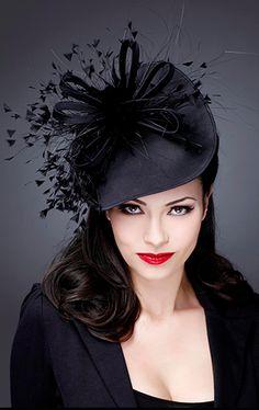 Hats for Women: Guibert Millinery, Silver Screen Collection. Millinery Hats, Fascinator Hats, Fascinators, Headpieces, Glamour, Crazy Hats, Stylish Hats, Kentucky Derby Hats, Fancy Hats