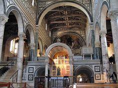 Базилика святого Миниаса на горе (Basilica di San Miniato al Monte), Флоренция