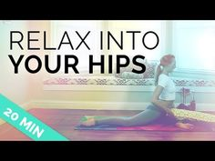 In this 20 minute yoga video, I'll show you a soothing yin hip opening sequence. It's time to relax into your hips, make sure to be comfortable by putting yo. Senior Fitness, Yoga Fitness, Hip Strengthening Exercises, Hip Opening Yoga, Yin Yoga Poses, Yoga Detox, Yoga For You, Yoga For Flexibility, Restorative Yoga