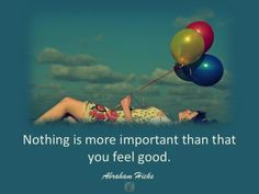 #AbrahamHicksQuote #FeelGood #Important