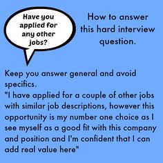 Hard interview questions can throw you. Use the excellent sample interview answers to 3 of the toughest interview questions you will face in your interview. Job Interview Answers, Job Interview Preparation, Interview Skills, Job Interview Tips, Job Interviews, Job Interview Hairstyles, Job Resume, Resume Tips, Resume Help