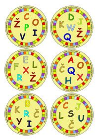 DOBBLE - písmenká Games For Kids, Diy For Kids, Schools First, 1st Grade Math, Diy Games, Alphabet Activities, Teaching Materials, Special Education, Board Games