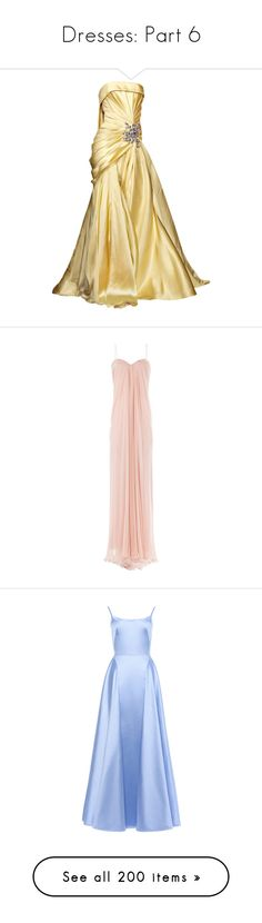 """""""Dresses: Part 6"""" by nerdbucket ❤ liked on Polyvore featuring dresses, gowns, long dresses, vestidos, elie saab evening dresses, elie saab gowns, beige dress, elie saab evening gowns, long dress and evening gowns"""