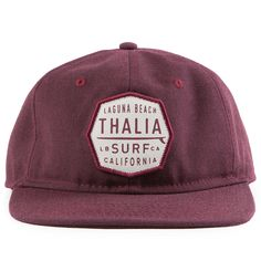 4cf1afb71c5ed Thalia Surf Crest Patch Unstructured Hat