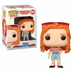 Funko Pop Stranger Things Max Mall Outfit - Tienda Funko - New Ideas Stranger Things Funko Pop, Stranger Things Max, Pop Vinyl Figures, Funko Pop Anime, Funko Pop Dolls, Custom Funko Pop, Funk Pop, Pop Up, Disney Pop