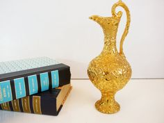 Weeping mid century Savoy China Vintage Gold by FourthEstateSale