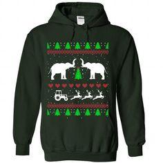 xmas elephants T Shirts, Hoodies. Get it here ==► https://www.sunfrog.com/Christmas/xmas-elephants-3974-Forest-Hoodie.html?41382