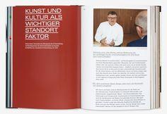 25 Jahre ZF Kunststiftung - Hubert & Fischer | Graphic Design, Art Direction, Visual Communication